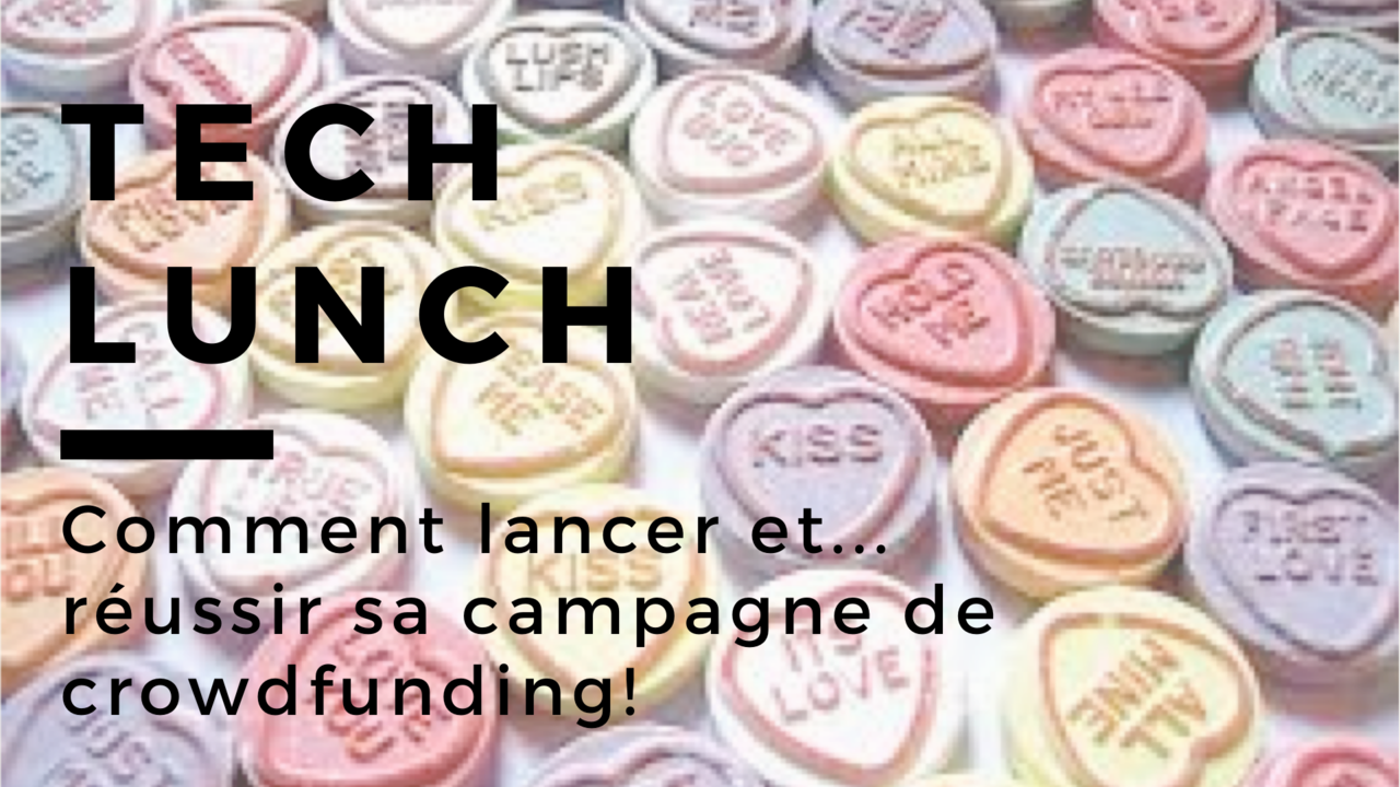 Tech lunch   crowdfunding