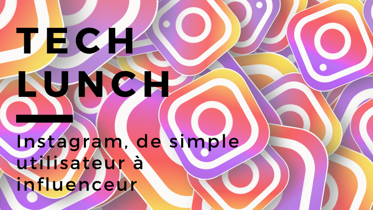 Tech lunch   instagram